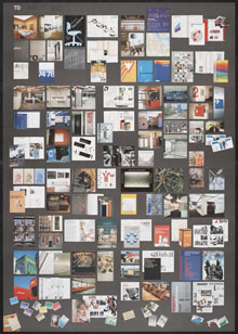 A Total Design promotion poster, 1981 (design: Wim Derboven, Total Design, photography: Tjeerd Frederikse)