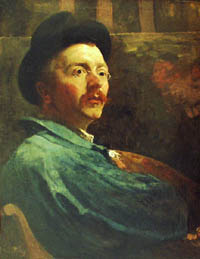 Jacobus van Looy, Self-portrait, 1896