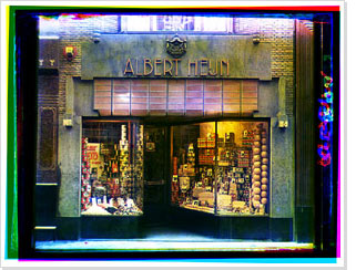Kalverstraat 84 in Amsterdam, Albert Hein store with fully dressed display window, Bernard Eilers