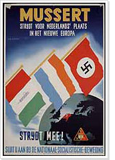 Poster for the NSB (the Dutch National-Socialists)