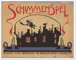 Cover of a shadow play theatre, 1920